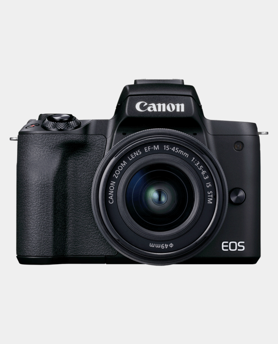 Canon EOS M50 Mark II Mirrorless Camera + EF-M 15-45mm f/3.5-6.3 IS STM Lens in Qatar