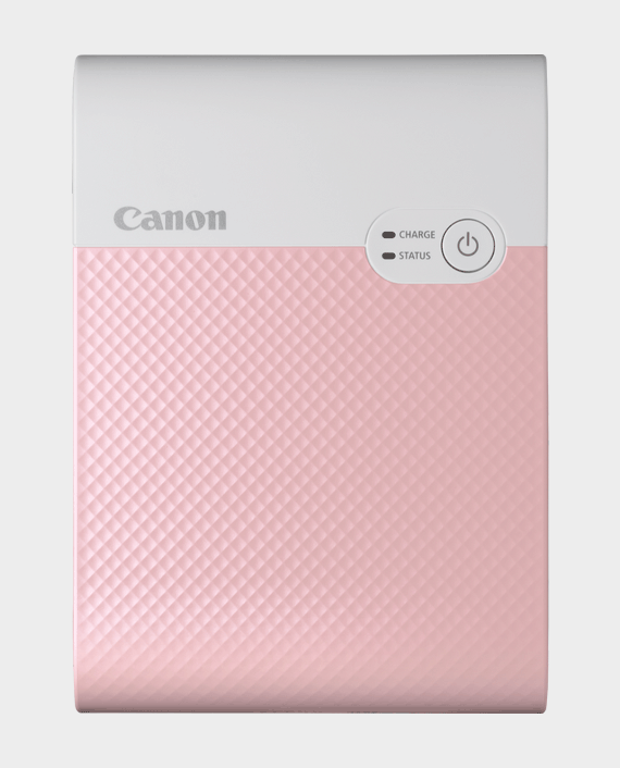 Canon Selphy Square QX10 Portable Colour Photo Wireless Printer Pink in Qatar