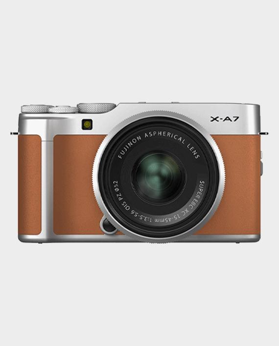 Fujifilm X-A7 Mirrorless Digital Camera with 15-45mm Lens Caramel in Qatar