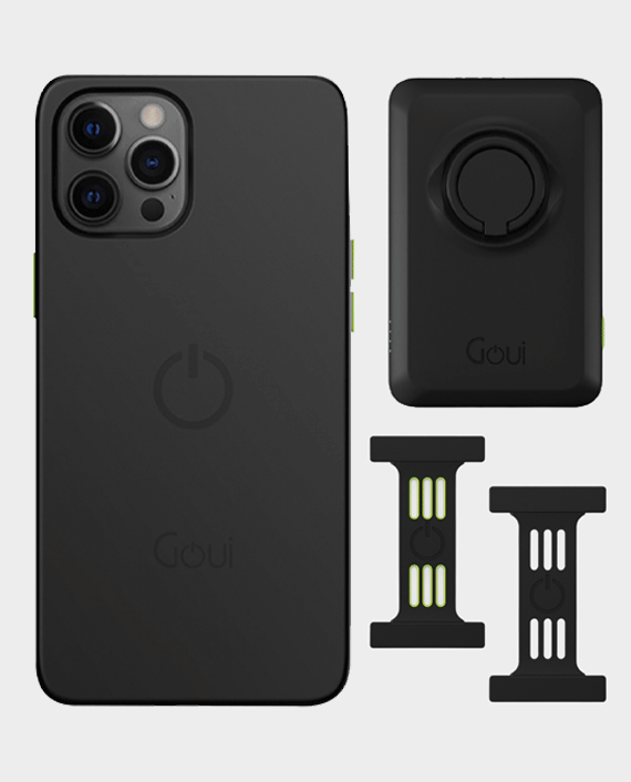 Goui iPhone 12 Pro Max Cover Strap Wireless Power Bank Combo in Qatar