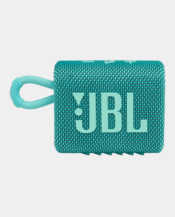 JBL Go 3 Portable Wireless Speaker Teal in Qatar