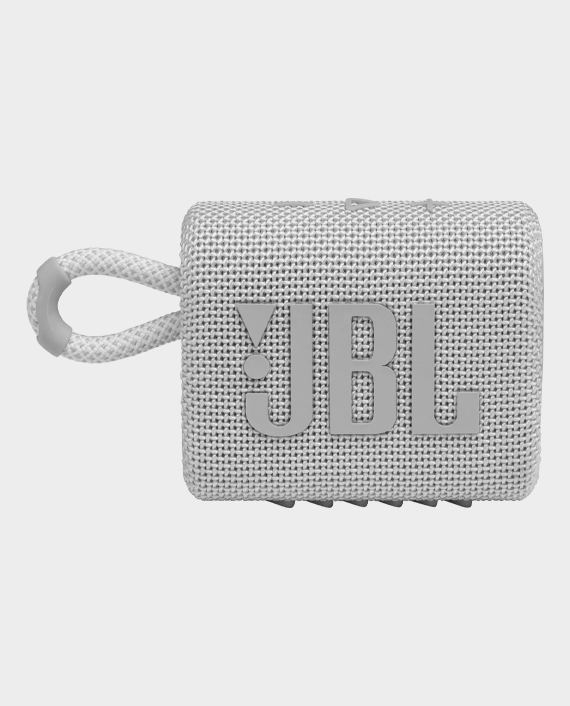 JBL Go 3 Portable Wireless Speaker White in Qatar