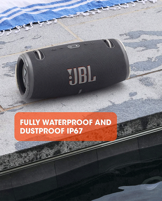 JBL Xtreme 3 Portable Wireless Speaker Blue