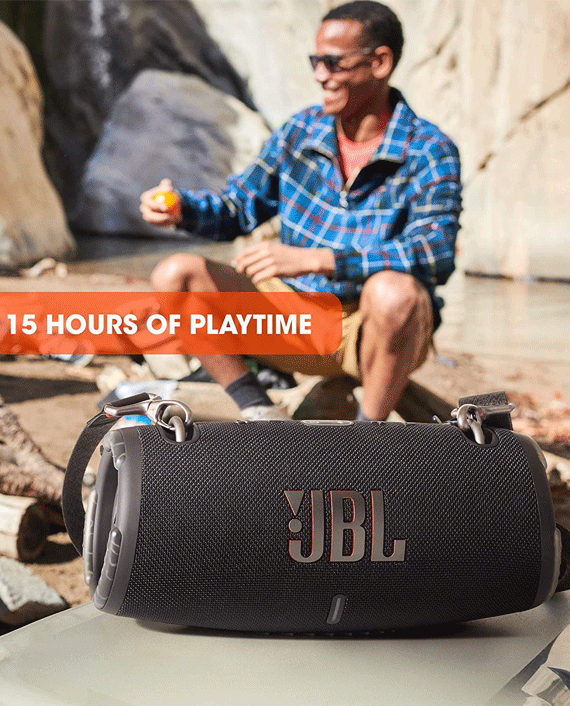 JBL Xtreme 3 Portable Wireless Speaker Camo Green