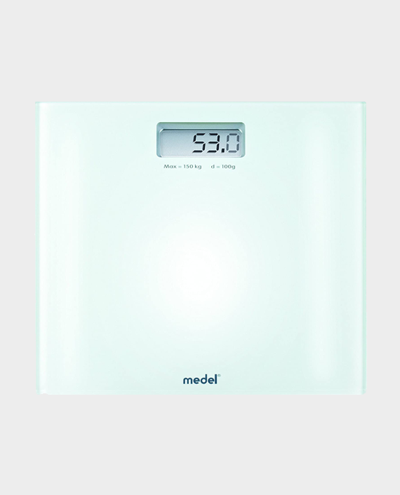 Medel 92081 Crystal Glass Digital Scale in Qatar