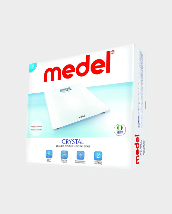 Medel 92081 Crystal Glass Digital Scale