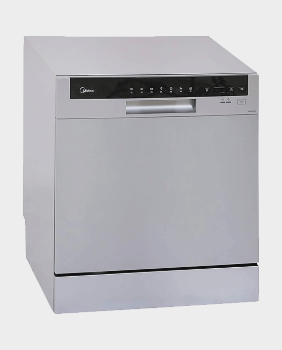 Midea WQP83802F 8 Place Portable Dishwasher Silver