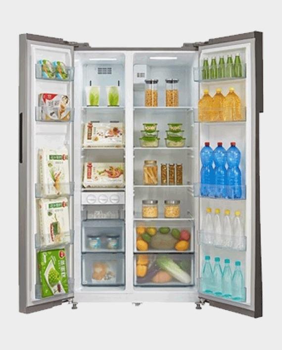 Midea Refrigerator MRS518WFNX in Qatar