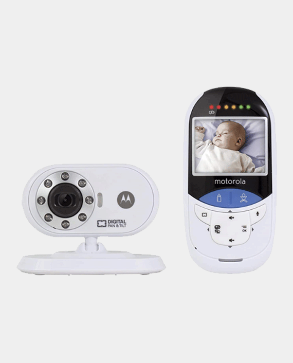 Motorola Mbp27T-2.4' Digital Video Monitor With Touchless Thermometer in Qatar