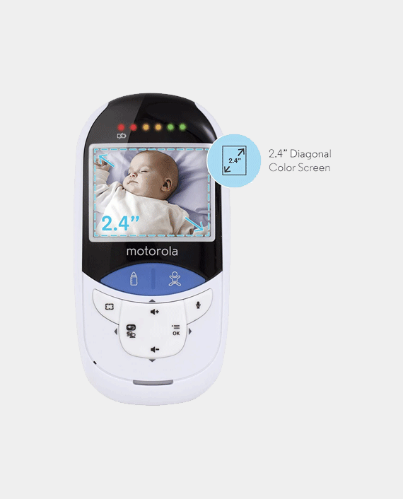 Motorola Mbp27T 2.4 Digital Video Monitor With Touchless Thermometer