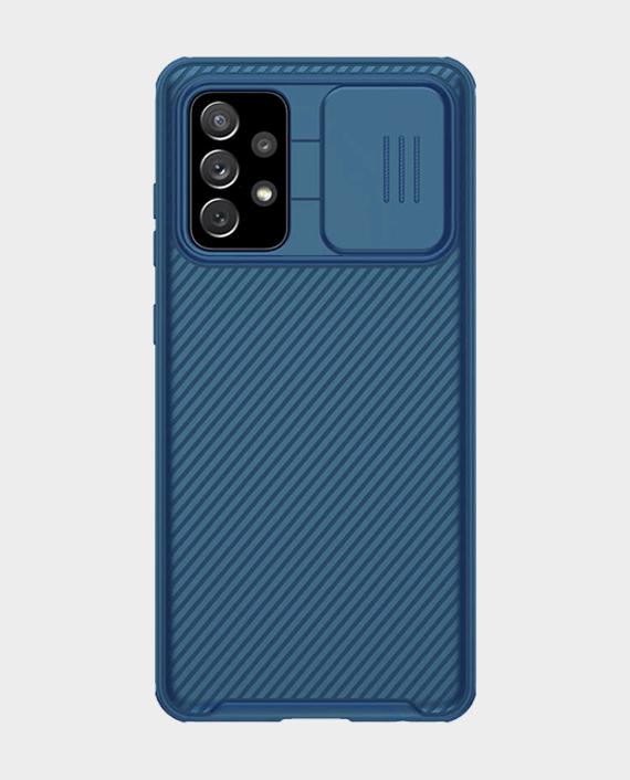 Nillkin Samsung Galaxy A72 CamShield Back Case Blue in Qatar