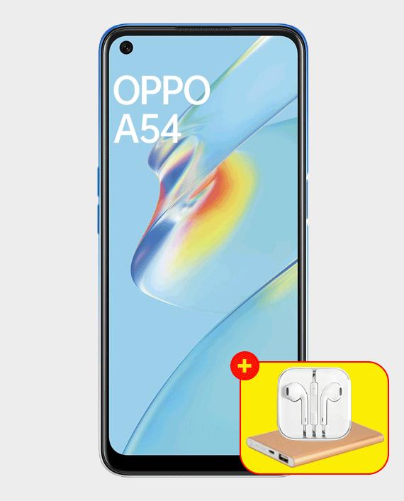 Oppo A54 4GB 64GB Starry Blue in Qatar