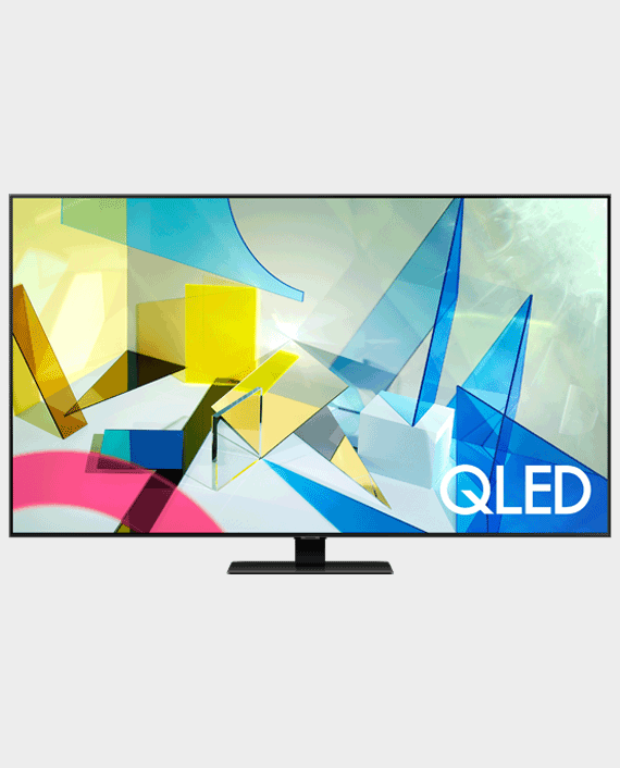 "Samsung 75"" Q80T QLED 4K Flat Smart TV (2020) in Qatar"