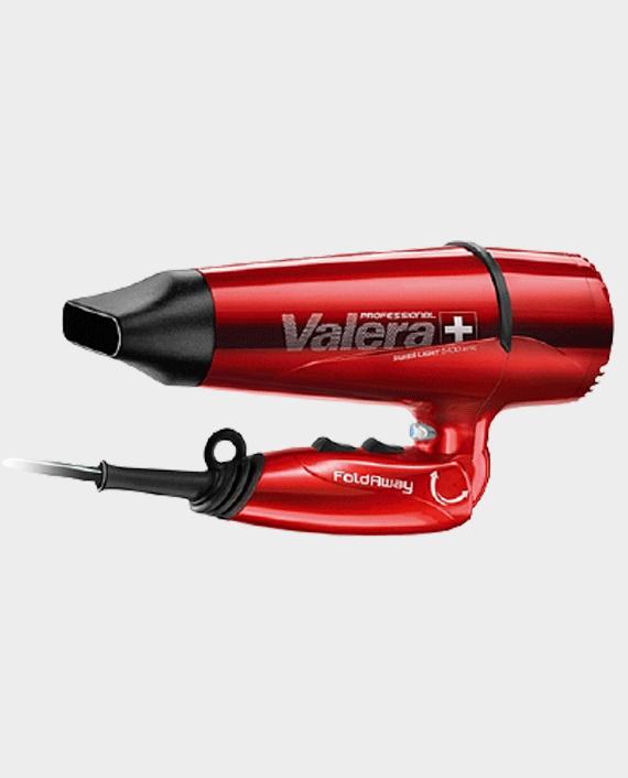 Valera Swiss Light 5400 Fold Away Professional Hairdryer Ionic Red
