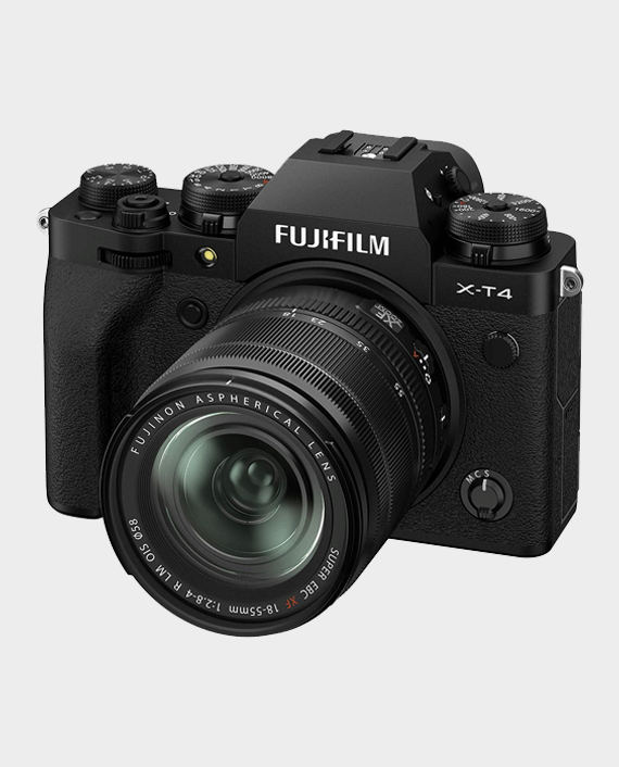 Fujifilm X-T4 Mirrorless Digital Camera with 18-55mm Lens in Qatar