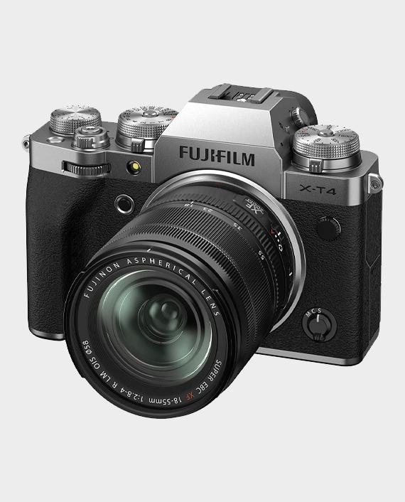 Fujifilm X-T4 Mirrorless Digital Camera with 18-55mm Lens Silver in Qatar
