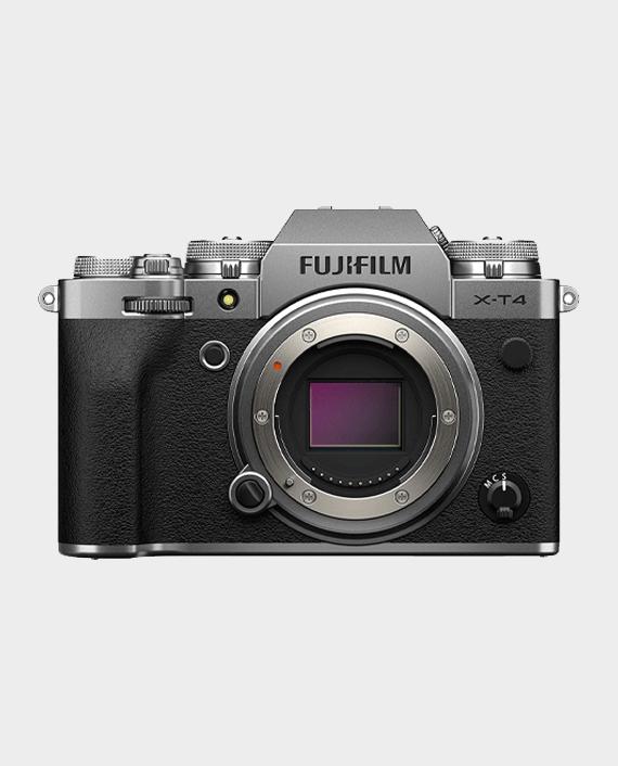Fujifilm X-T4 Mirrorless Digital Camera (Body Only) Silver in Qatar
