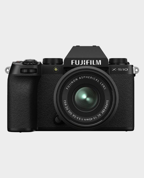 Fujifilm X-S10 Mirrorless Digital Camera with 15-45mm Lens in Qatar