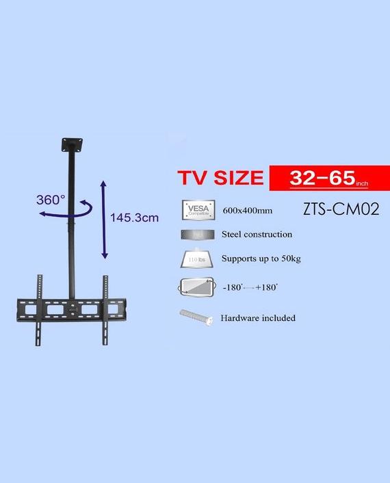 Zenan ZTS-CM02 TV Ceiling Mount 32-65 Inch