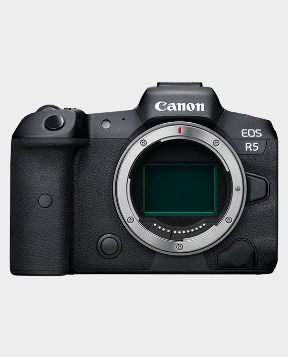 Canon EOS R5 Mirrorless Camera Body in Qatar