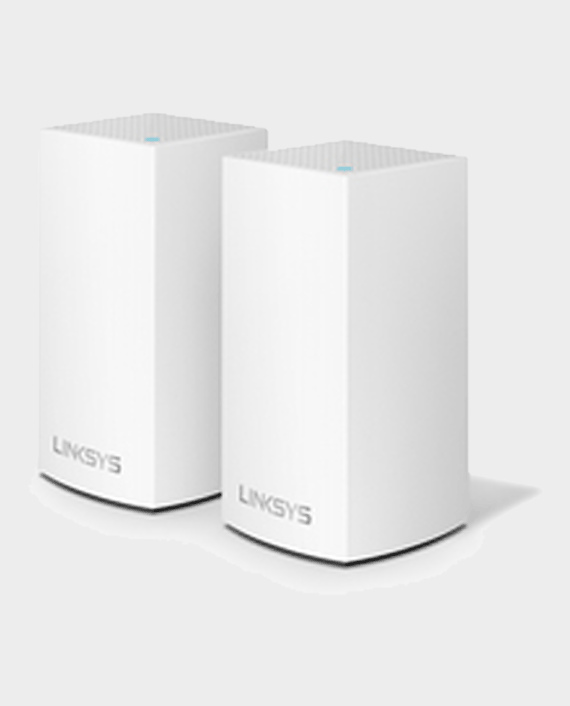Linksys Velop Whole Home Intelligent Mesh WiFi System Dual Band 2 Pack in Qatar