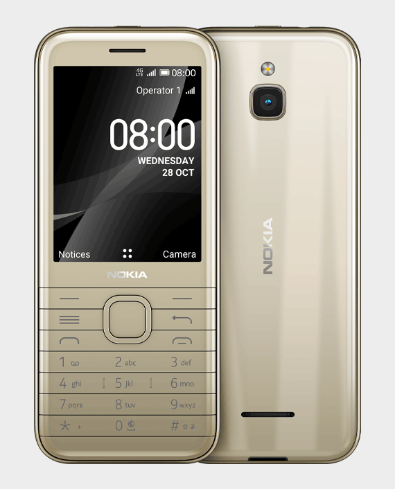Nokia 8000 DS 4G Gold in Qatar