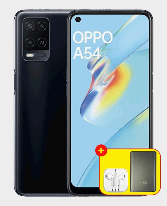 Oppo A54 4GB 128GB Crystal Black in Qatar