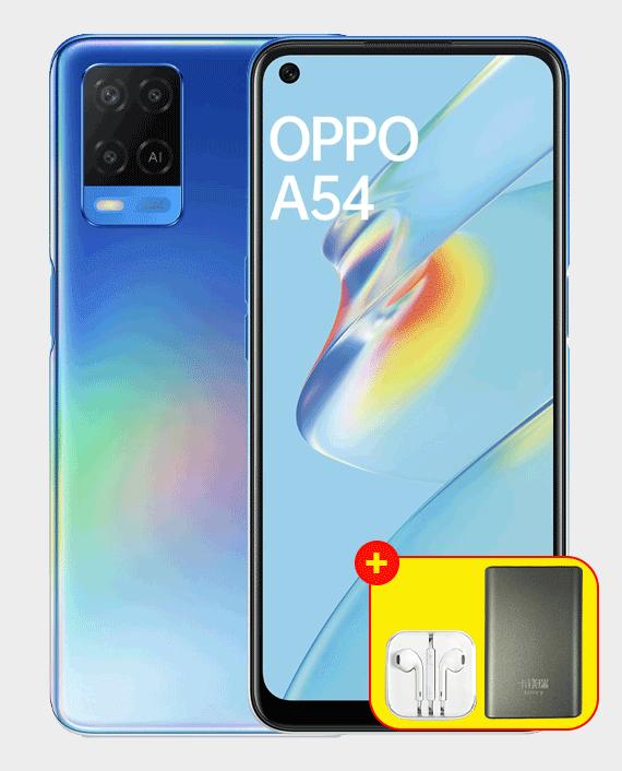 Oppo A54 4GB 128GB Starry Blue in Qatar