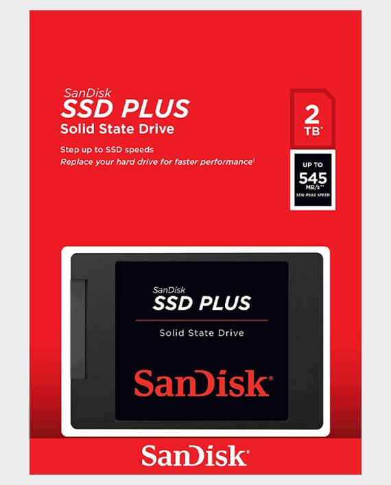 SanDisk Internal SSD Plus Solid State Drive 2TB