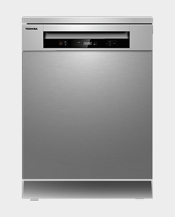 Toshiba DW-14F1ME Free Standing Dishwasher in Qatar
