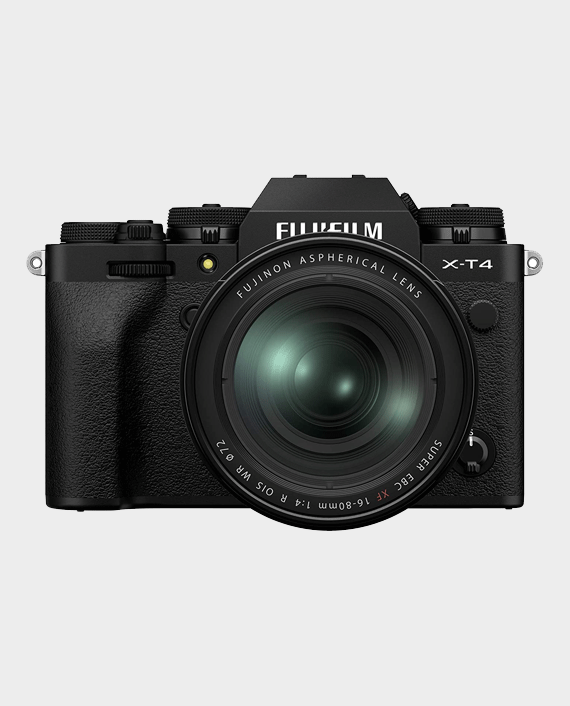 Fujifilm X-T4 Mirrorless Digital Camera with 16-80mm Lens in Qatar