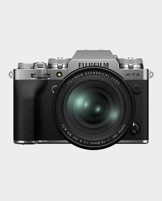 Fujifilm X-T4 Mirrorless Digital Camera with 16-80mm Lens Silver in Qatar