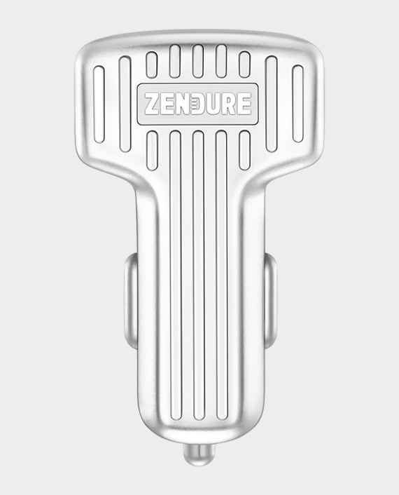 Zendure A-Series Dual Ports Car Chargers With QC 3.0 Silver in Qatar
