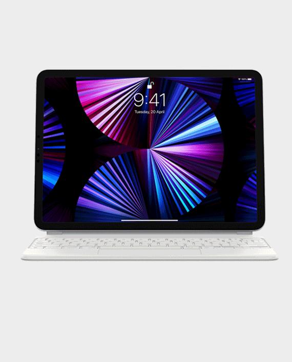 "Apple iPad Magic Keyboard 11"" 2021 Arabic White in Qatar"