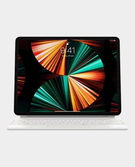 "Apple iPad Magic Keyboard 12.9"" 2021 Arabic White in Qatar"
