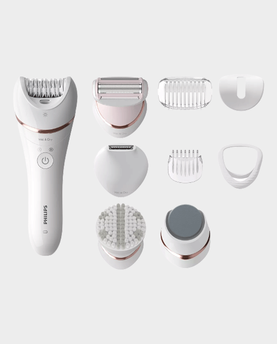Philips BRE740/11 Series 8000 Wet and Dry Cordless Epilator in Qatar