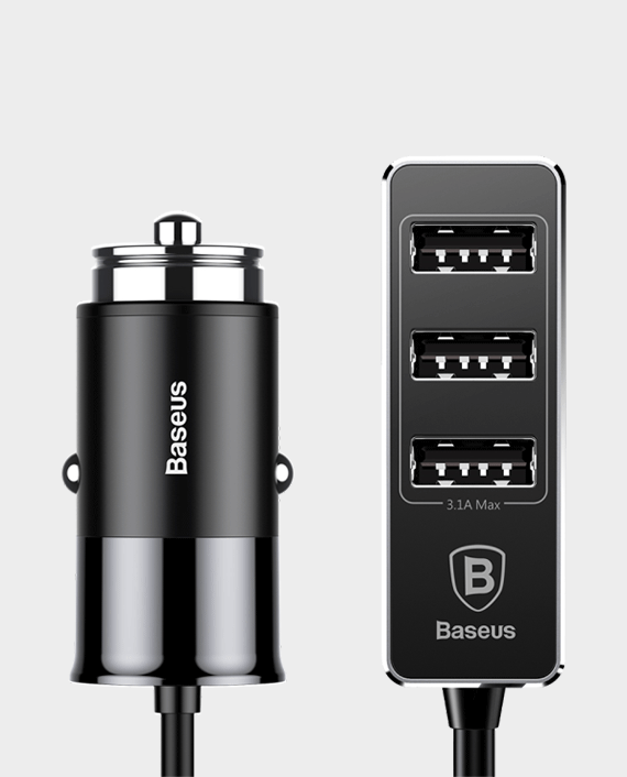 Baseus Enjoy Together Output Patulous Car Charger in Qatar
