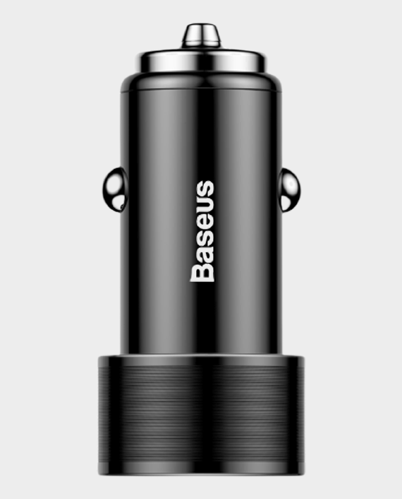 Baseus Small Crew Dual-USB Quick Charge Car Chargers 36W in Qatar
