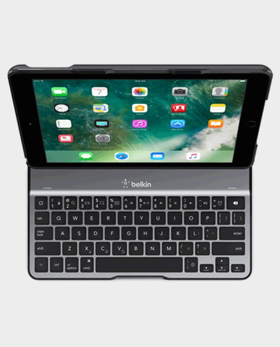 Belkin iPad 9.7 inch 6th Generation 2018 QODE™ Ultimate Lite Keyboard Case Black