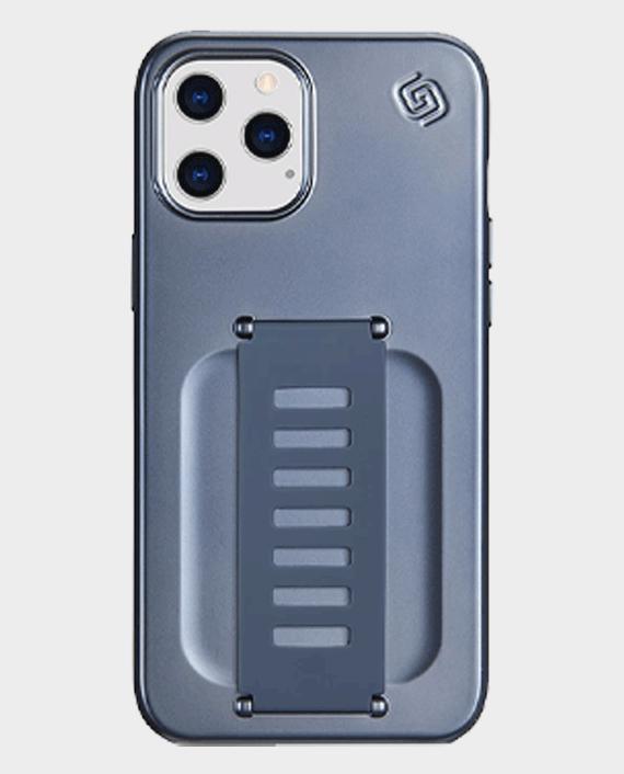 Grip2u iPhone 12 Pro Max Boost Slim Case Metalic Blue in Qatar