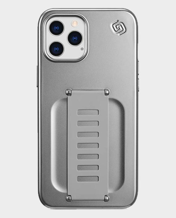 Grip2u iPhone 12 Pro Max Slim Case Metalic Silver in Qatar
