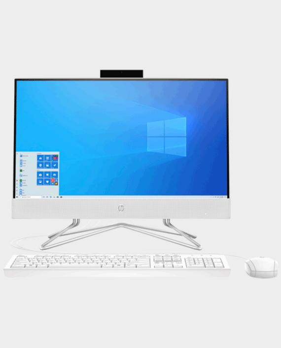 HP 22-DF000NE All in One Computer 22 Inch / Intel Core i3 / 4GB RAM / 1TB HDD / Intel Ultra HD / English / Arabic Keyboard White in Qatar