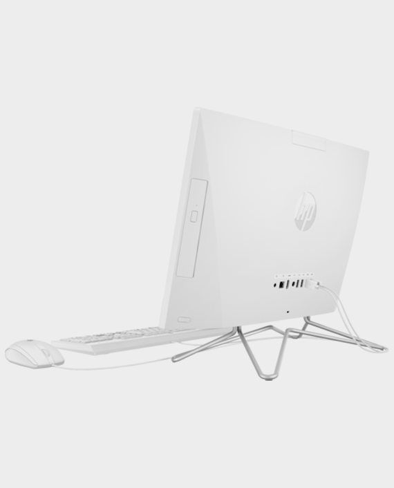 HP 22-DF000NE All in One Computer 22 Inch / Intel Core i3 / 4GB RAM / 1TB HDD / Intel Ultra HD / English / Arabic Keyboard