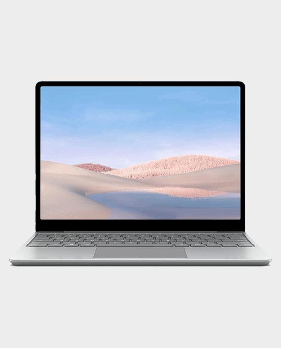Microsoft Surface Laptop Go 21O 00014 Intel Core i5 1035G1 16GB Ram 256GB SSD 12.4 inch Touch Platinum in Qatar