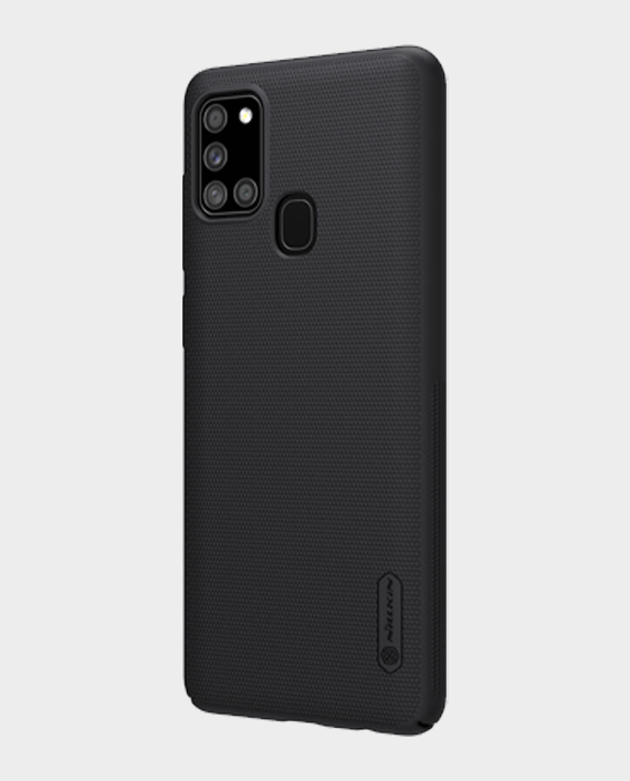 Nillkin Samsung Galaxy A21s Super Frosted Shield Protection Case Black