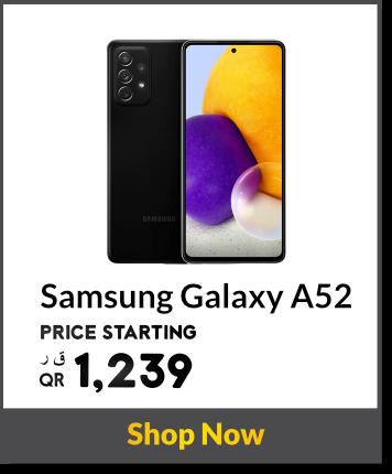 Samsung Galaxy A52 in Qatar