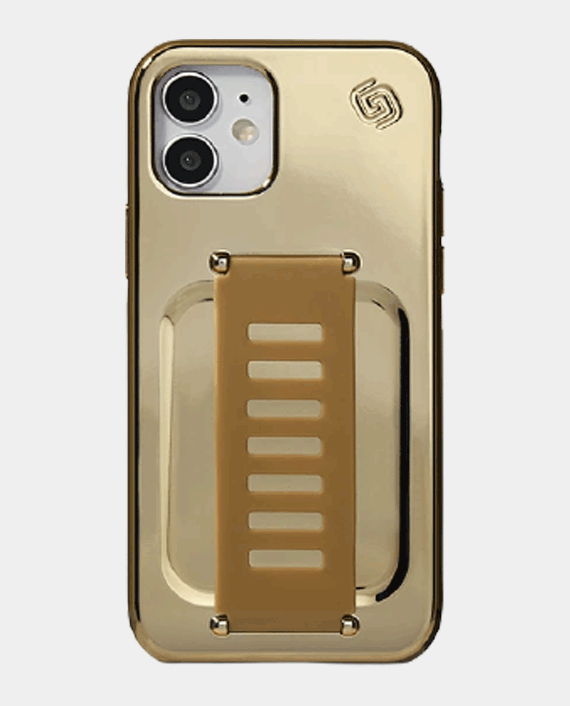 Grip2u Slim Case For Iphone 12/12 Pro Tinsel Gold in Qatar