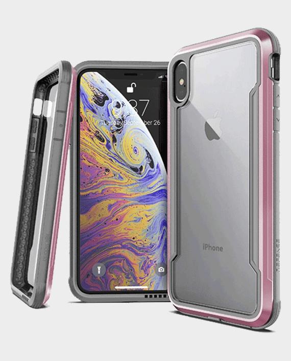 X-Doria iPhone Xs Max Defense Shield Back Case Rose Gold in Qatar