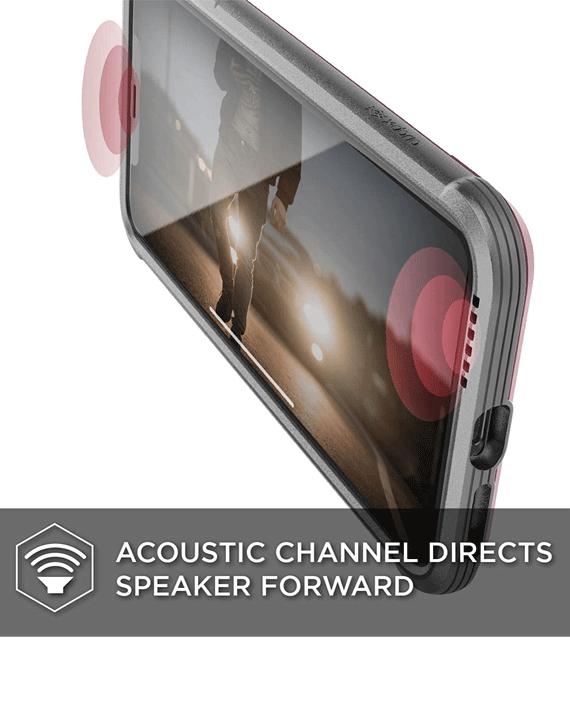 X-Doria iPhone Xs Max Defense Shield Back Case