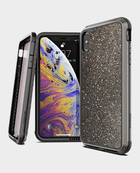X-Doria iPhone XS Max Defense Lux Back Case Dark Glitter in Qatar